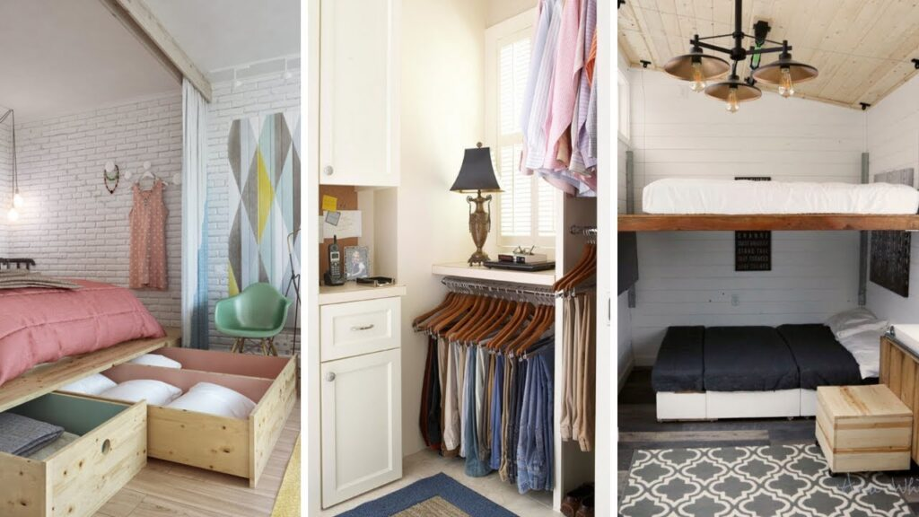 Optimize the space in your small room