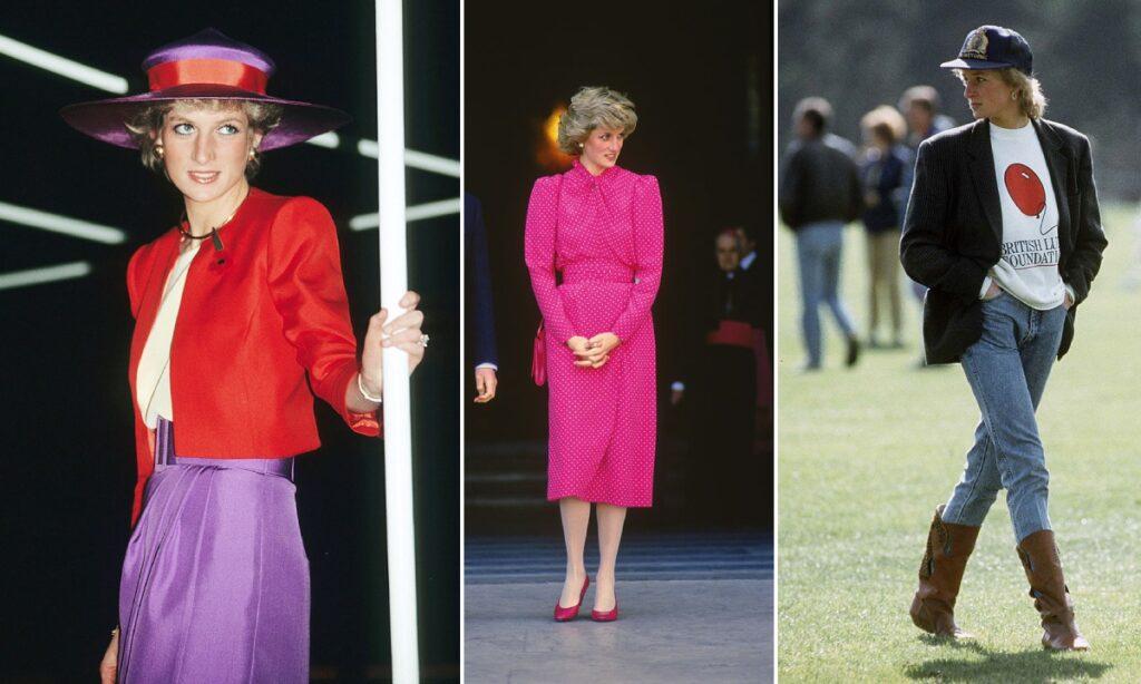 princess diana style trends