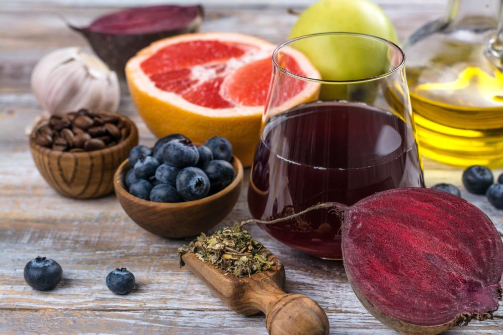 food to detox your liver and lungs